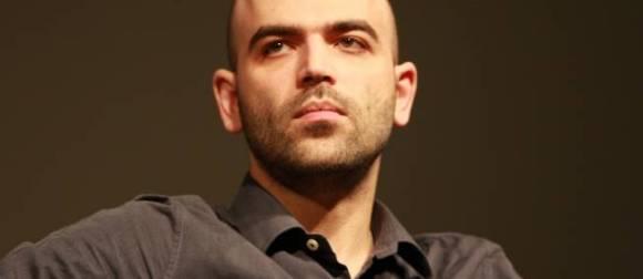 "Roberto Saviano, auteur de ""Gomorra"". © Andre Huber / Maxppp"