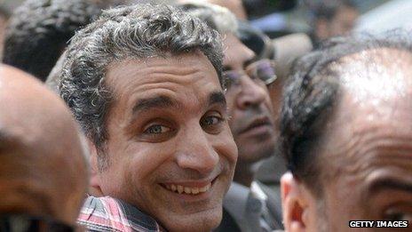 M. Youssef a connu la gloire en Egypte après le soulèvement Février 2011