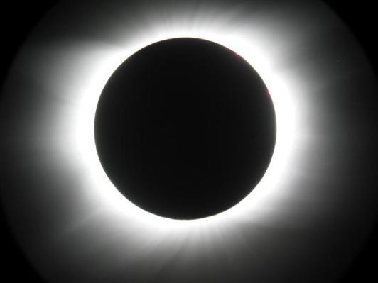 Eclipse totale dans certains pays d'Afrique