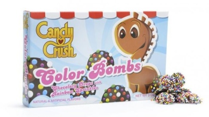 Le jeu vidéo Candy Crush se lance dans les bonbons