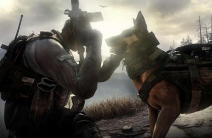 Riley, la star canine du jeu vidéo «Call of Duty: Ghosts»