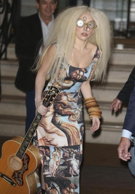 Il y a toujours eu quelque chose d'un peu étranger au sujet de Lady Gaga