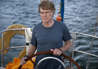 "Robert Redford dans ""All Is Lost"""
