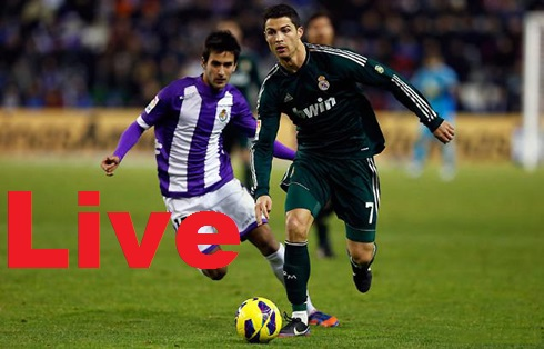 Real Madrid-Valladolid-Streaming-Live