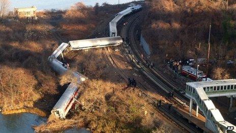 Le train semblait aller