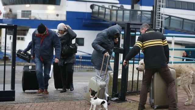 Des vents violents ont frappé le Danemark et les Pays-Bas