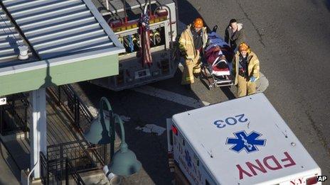 Les blessés ont été acheminés vers les hôpitaux locaux