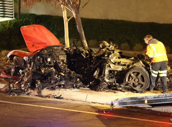 le crash mortel de Paul Walker