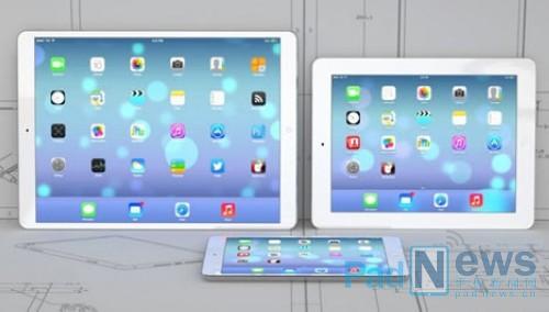 la nouvelle tablette d'Apple dotée d'un écran 12.9 pouces
