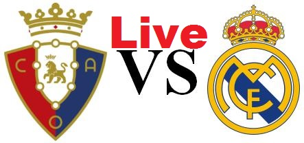Osasuna-Real Madrid-Streaming-Live