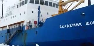 un bateau russe bloqué depuis mardi dans l'Antarctique