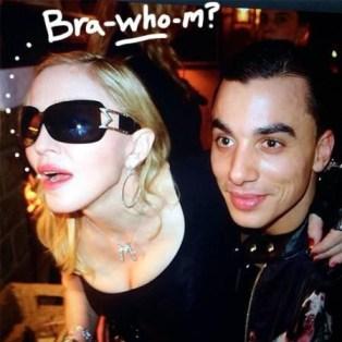 Madonna et son nouveau copain Timor Steffens