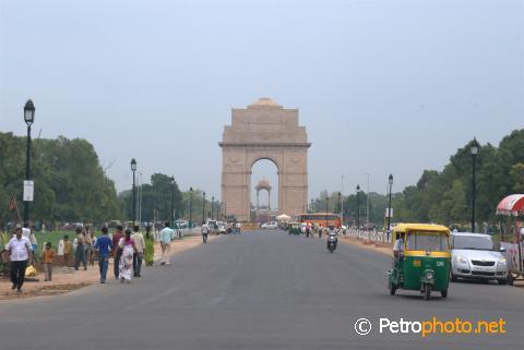 New Delhi en Inde visitée par la touriste violée et son amie