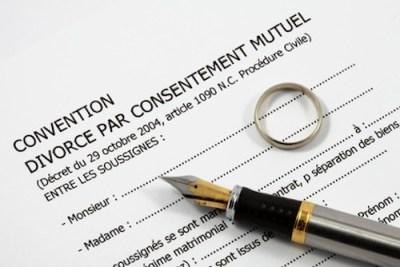 le divorce par consentements mutuels est le seul divorce concerné par le rapport qui sera présenté à la ministre de la justice