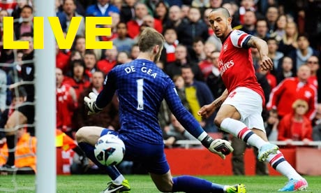 Arsenal-Manchester United-Streaming-Live