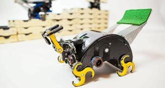 le robot est autonome