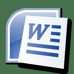 Le logo de Microsoft Word