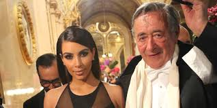 Richard Lugner et Kim kardashian
