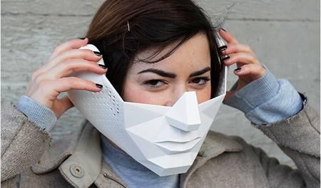 le masque développe les sens