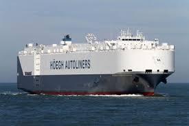 le navire St Petersburg chargé d'inspecter les débris