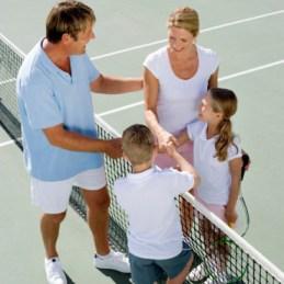 le sport en famille