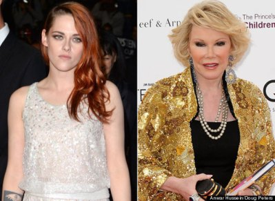 Kristen Stewart Joan Rivers