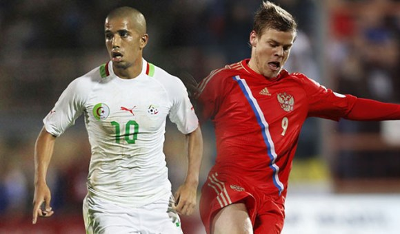 Match Algerie Russie en direct