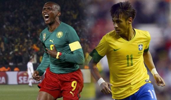Match Cameroun Bresil en direct tv et streaming sur Internet