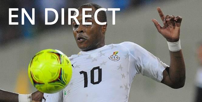 Retransmission du match Ghana - Corée du sud en direct Tv et Streaming sur Internet