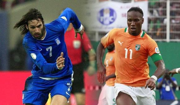 Retransmission du match Grèce Côte d'Ivoire en direct Tv et streaming sur Internet