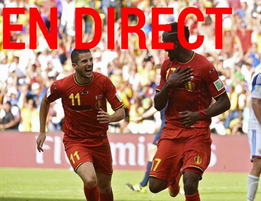 Match Belgique - Etats Unis en direct tv et streaming sur Internet