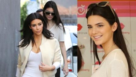 Kim et Kendall sont la paix