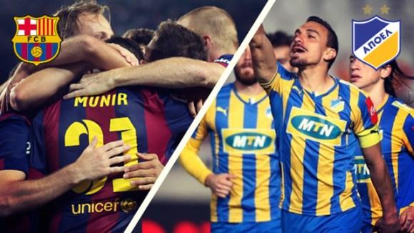 FC Barcelone - Apoel Nicosie