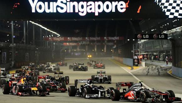 GP F1 Singapour 2014