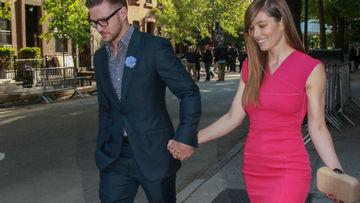 Justin Timeberlake et sa femme