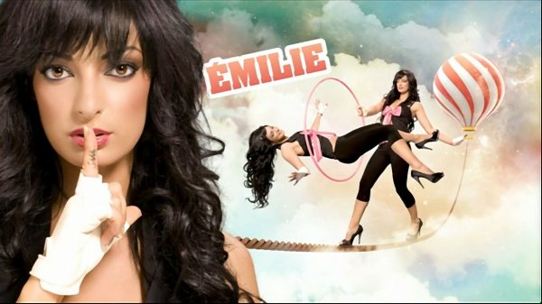 La gagnante de Secret Story 3 Emilie Nef Naf