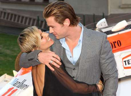 Elsa Pataky et Chris Hemsworth