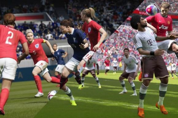 La nouvelle lutte entre Fifa 16 et PES 2016