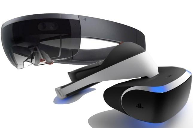Morpheus et HoloLens les casques de réalité virtuelle et augmentée de Sony et Microsoft