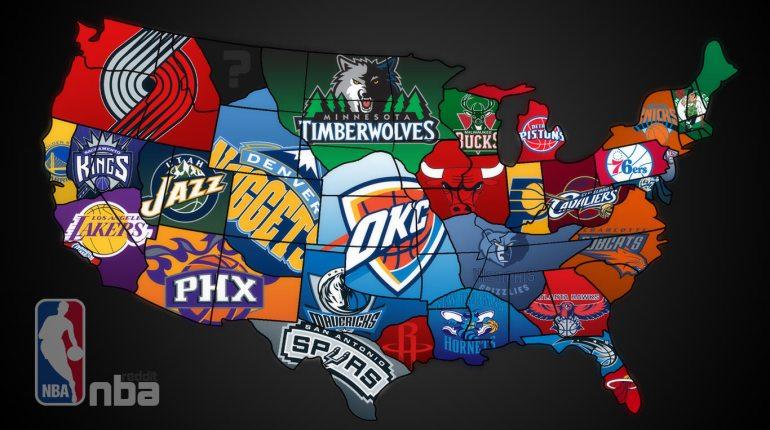 Les meilleures équipes de basket-ball en NBA