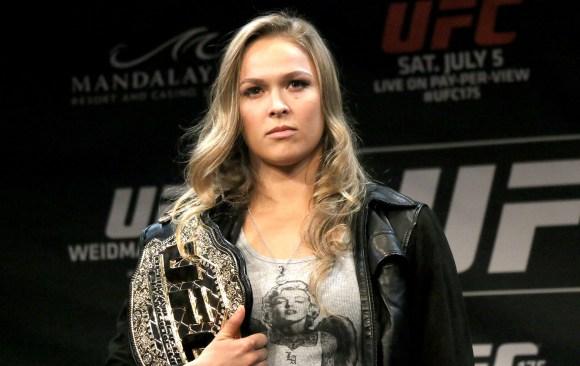 L'incroyable bilan de Ronda Rousey dans l'UFC