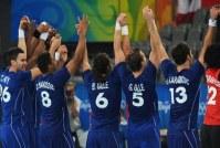 La France et les meilleures équipes Européennes dans le Championnat d'Europe de handball