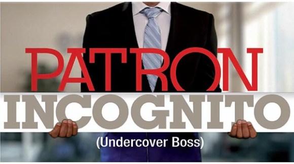 Patron Incognito sur La Compagnie du lit ce 27 janvier sur M6