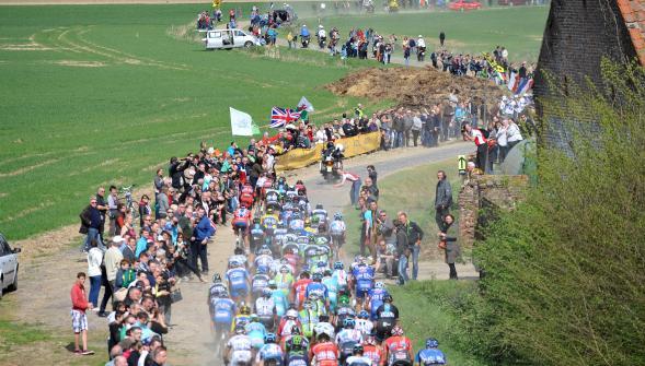 La classique Paris-Roubaix et son incroyable parcours sur pavé