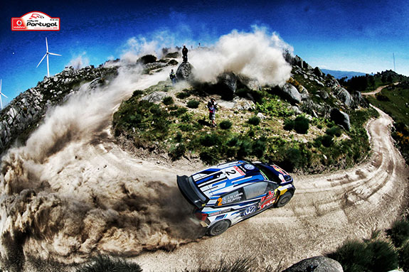 Le championnat du monde des rallyes se poursuit avec le Rallye du Portugal 2016