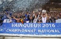 Les clus promus de National se préparent à retrouver la Ligue 2 de football