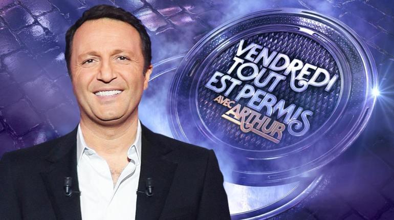 Vendredi tout est permis avec Arthur ce 24 juin en direct sur TF1