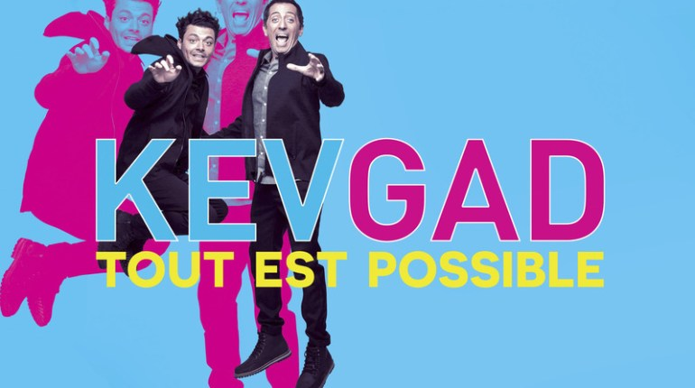 Kev et Gad Tout est possible en direct sur M6 : Voir le spectacle comique en vidéo