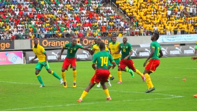 Match Egypte Cameroun