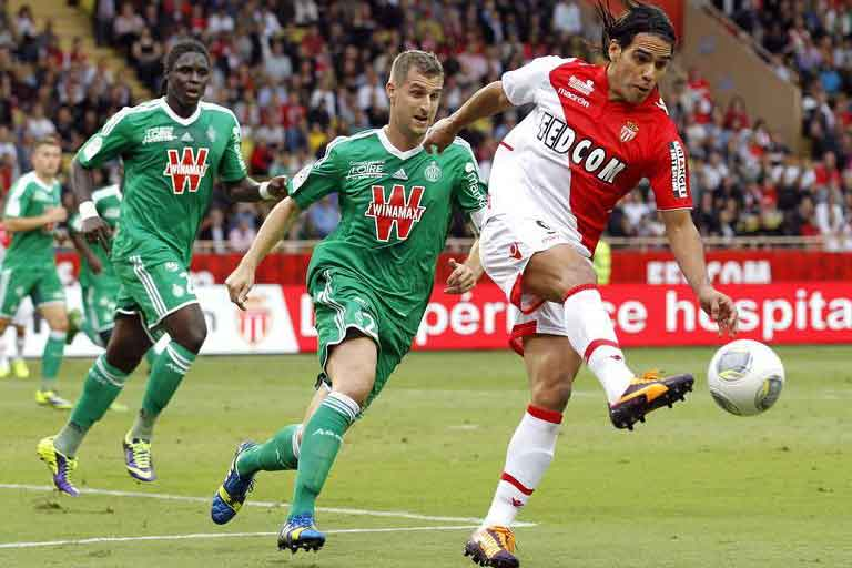 comment voir le match as monaco as saint etienne en direct la tv r sultat ligue 1 replay. Black Bedroom Furniture Sets. Home Design Ideas
